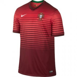 Portugal 2014 World Cup Home Shirt