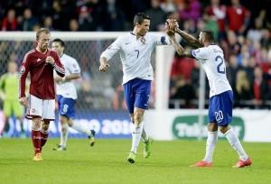 Portugal and Albania Advance to Euro 2016 Finals Ronaldo
