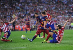 Preview of the Champions League Quarterfinals FCB Atletico