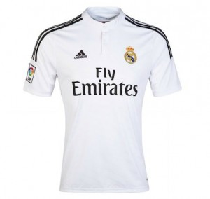 Real Madrid Home Shirt 2014 - 2015