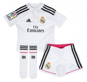 outlet store cbc44 8385e Football Kits for Kids | Real Madrid Boys Home Kit 2014 - 2015