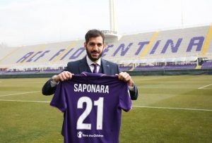 Riccardo Saponara at Fiorentina Signing