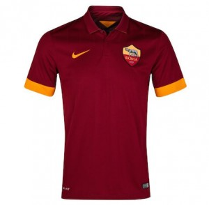 Roma Kids Home Shirt 2014 - 2015