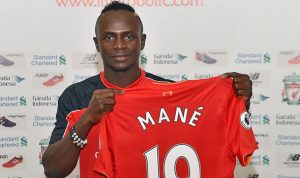 Sadio Mane Signs for Liverpool