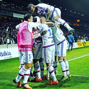 Second Place in the 2015/16 Ligue 1 Lyon