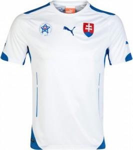 Slovakia Home Shirt 2014 - 2015