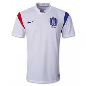 South Korea 2014 World Cup Away Shirt