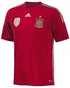 Spain Kids Home Shirt 2014 - 2015