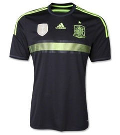 Spain World Cup Away Jersey 2014