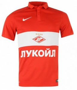 Spartak Moscow Home Shirt 2015 - 2016