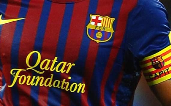 low priced 9d2cc 7a01b Sponsorship on FC Barcelona Shirts   Soccer Box
