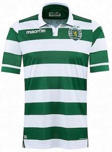 Sporting Lisbon Home Shirt 2015 - 2016