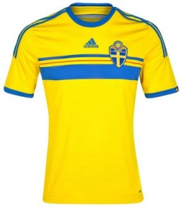 Sweden Home Shirt 2014 - 2015