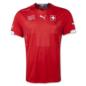 Switzerland 2014 World Cup Home Jersey