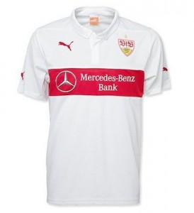 VFB Stuttgart Home Shirt 2014 - 2015