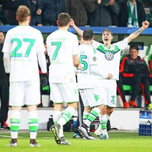 Wolfsburg End 2015 with a Four Game Dry Spell UCL