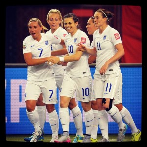 Women's World Cup 2015 Group Stage England