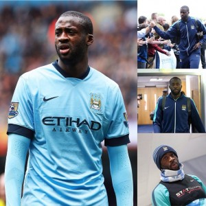 Yaya Toure Transfer Rumors Collage