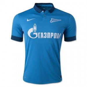 Zenit St Petersburg Home Shirt 2014 - 2015