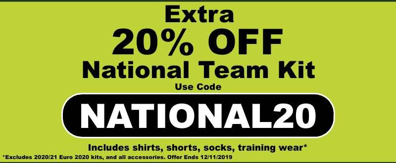 20% OFF National Kits