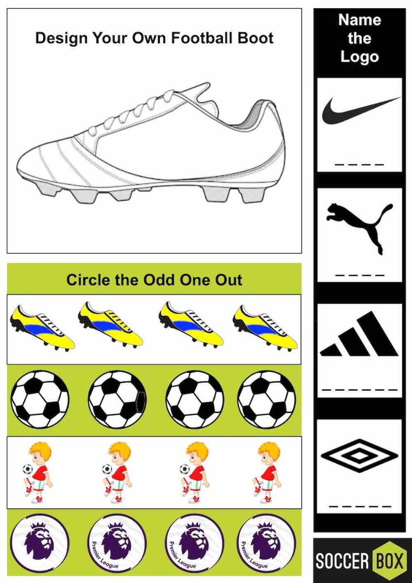 Activity book example page
