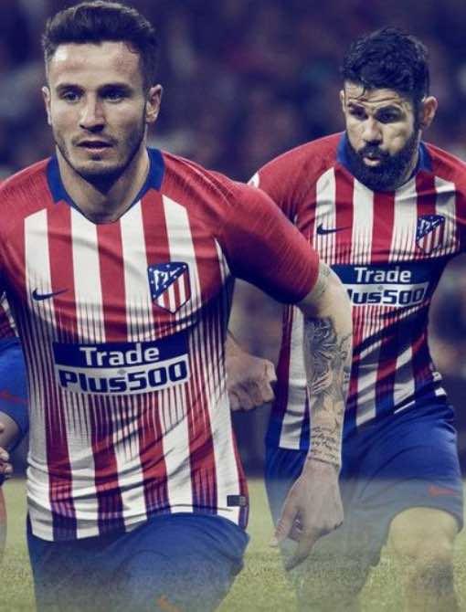 Atletico Madrid Home Kit 2018/19