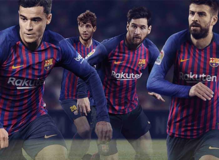 Barcelona Football Kit 2018/19