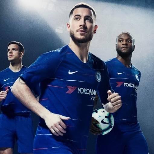 Chelsea 2018 Home Kit