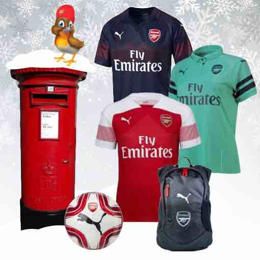 Arsenal Kit 2018/19 Christmas Gifts