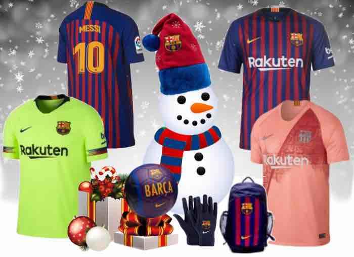 Barcelona Football Kit 2018/19 Christmas Gifts