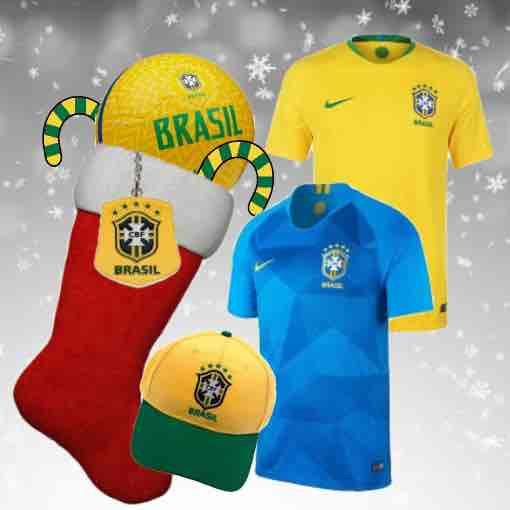 Brazil Football Kit 2018 Christmas Gifts