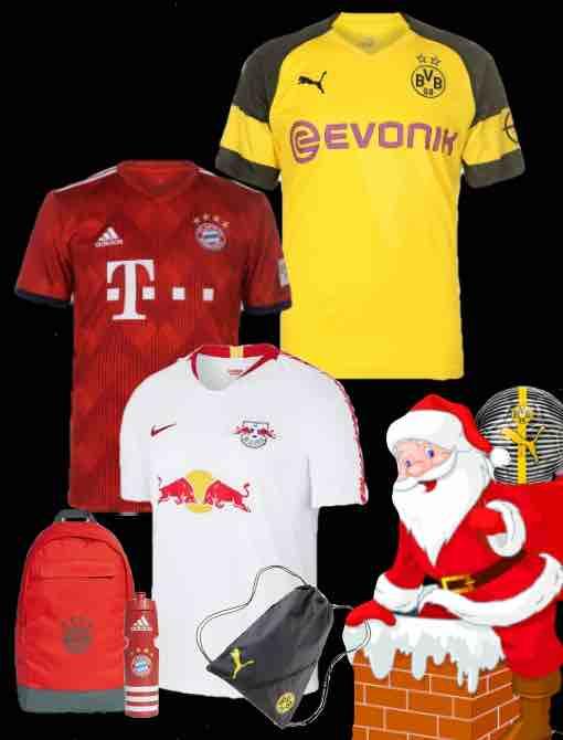 Bundesliga Kit 2018 Christmas Gifts