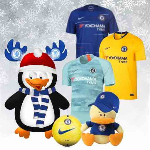 Chelsea 2018 Kit Christmas Gifts