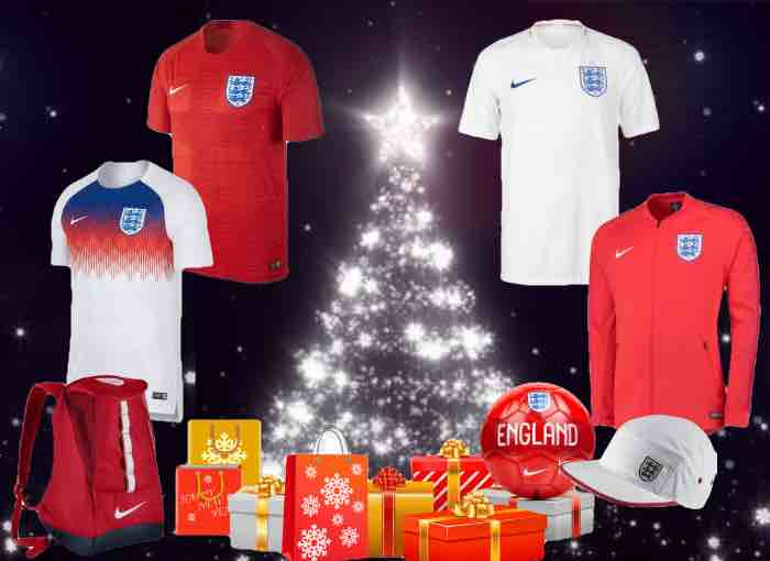 England 2018 Kit Christmas Gifts