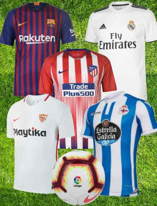 9347bebc5 La Liga Kit 2018 19 Christmas Gifts