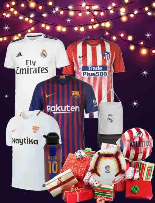 La Liga Kit 2018/19 Christmas Gifts