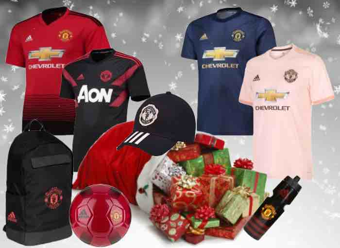 Manchester United Football Kit 2018/19 Christmas Gifts