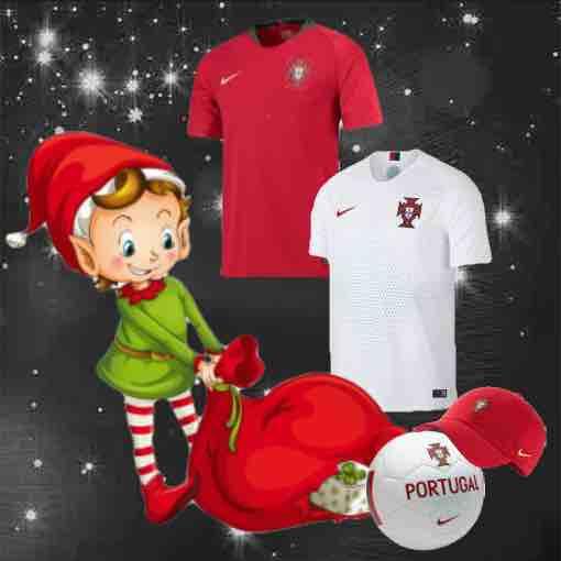 Portugal Shirts 2018 Christmas Gifts