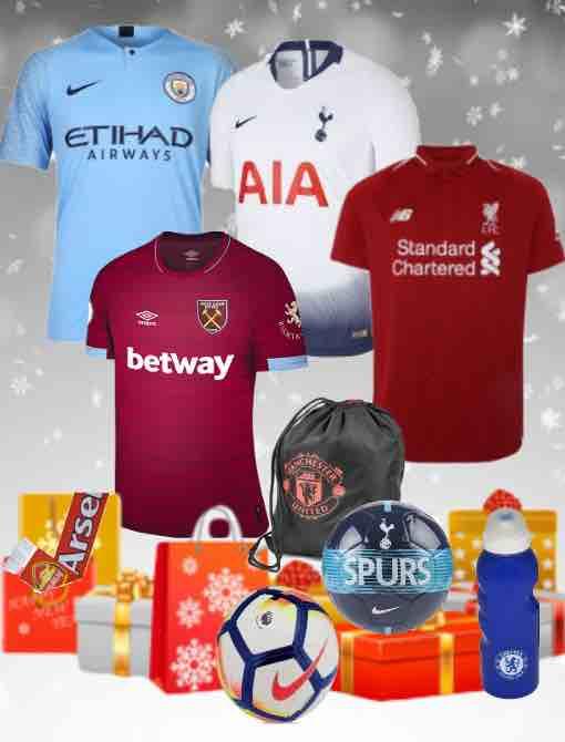 Premier League Kit 2018/19 Christmas Gifts