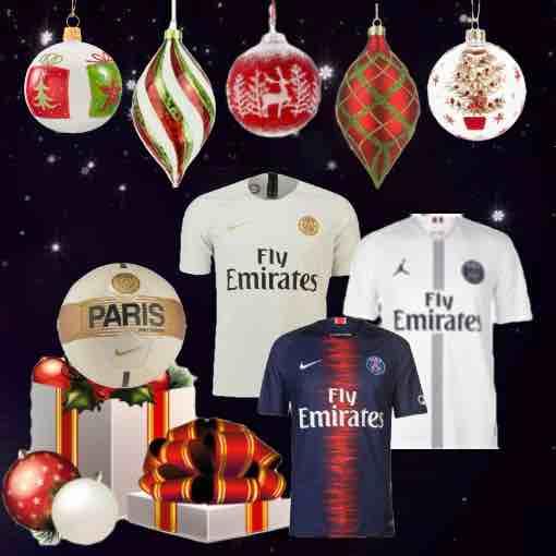 PSG Kit 2018/19 Christmas Gifts