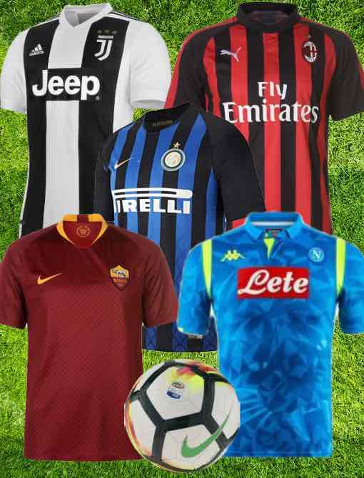 17a1ac780 Serie A Kit 2018 19 Christmas Gifts