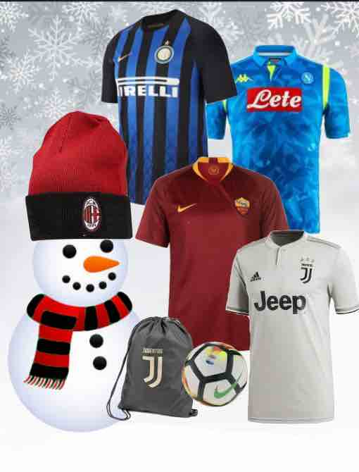 Serie A Kit 2018/19 Christmas Gifts