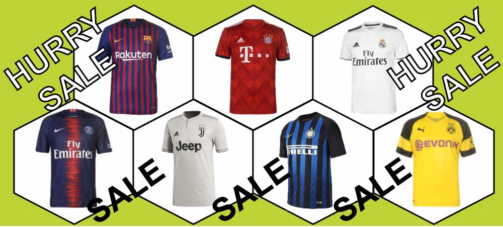 Club Teams Shirt Sale