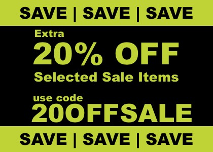 20% OFF sale coupon code