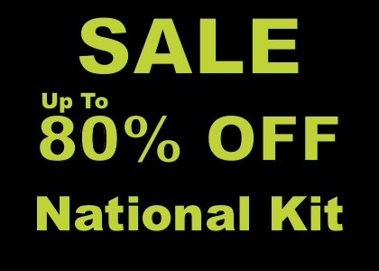 Up to 80% off national kit