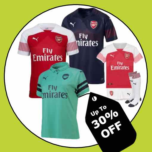 Arsenal Football Kit 2018/19