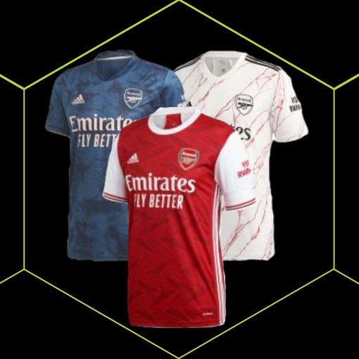 Arsenal Football Kit 20/21