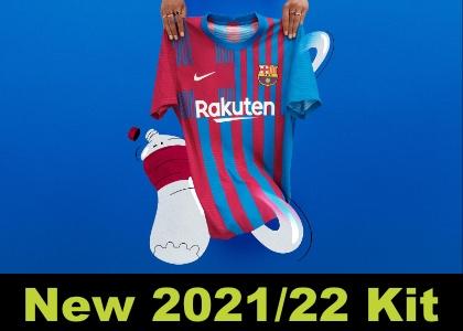 Barcelona home kit 2021/22