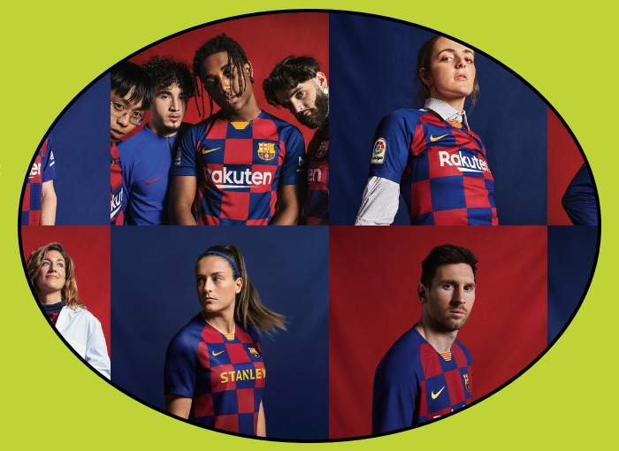 Barcelona Football Kit