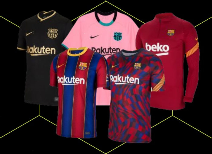 Barcelona Football Kit 20/21